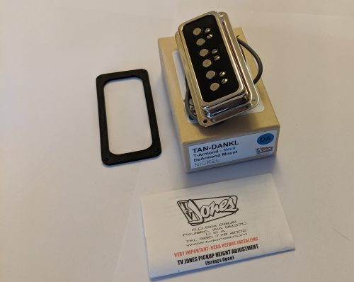 TV Jones T-Armond™ DeArmond Mount Neck Pickup in Nickel EX DEMO