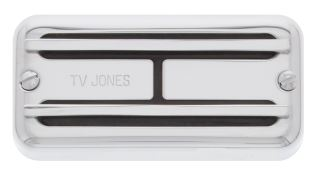 TV Jones Super'Tron Universal Mount™ Bridge Pickup in CHROME