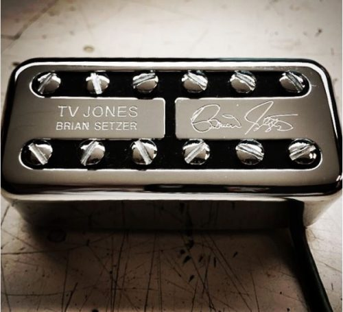 TV Jones Brian Setzer Universal Mount™ Bridge Pickup in Chrome